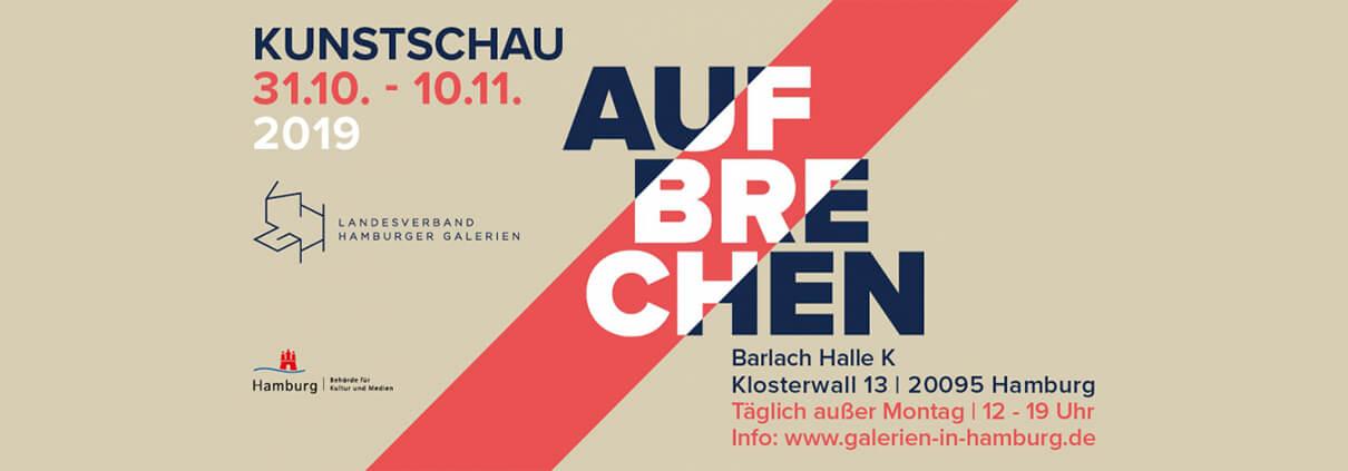 """""""AUFBRECHEN"""" – Gemeinschaftsausstellung Landesverband Hamburger Galerien e.V."""