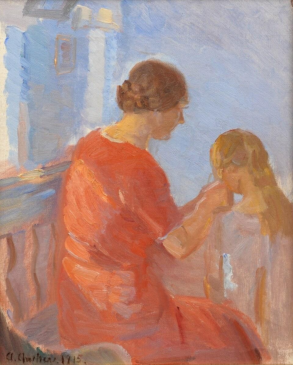 Galerie RIECK - Anna Ancher_ Mutter und Tochter
