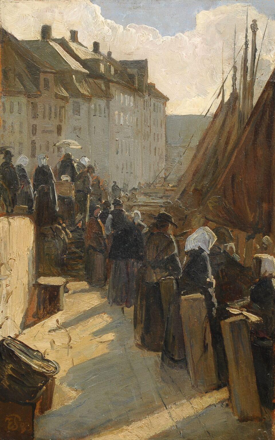 Galerie RIECK - Edvard Petersen_Alter Anleger Højbro