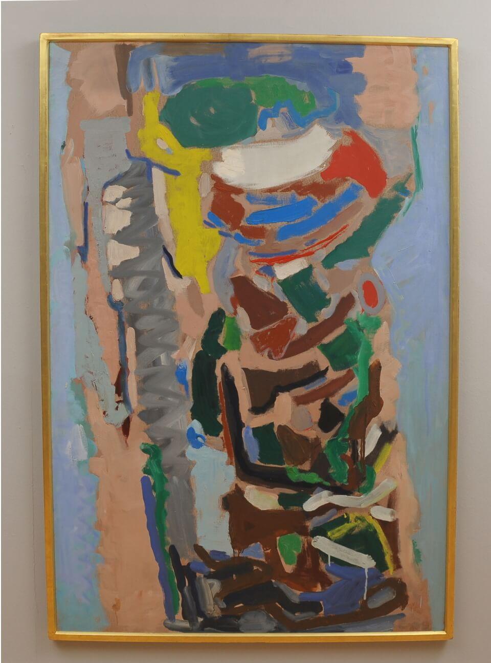 Galerie RIECK - Egon Mathiesen, Komposition_mit Rahmen