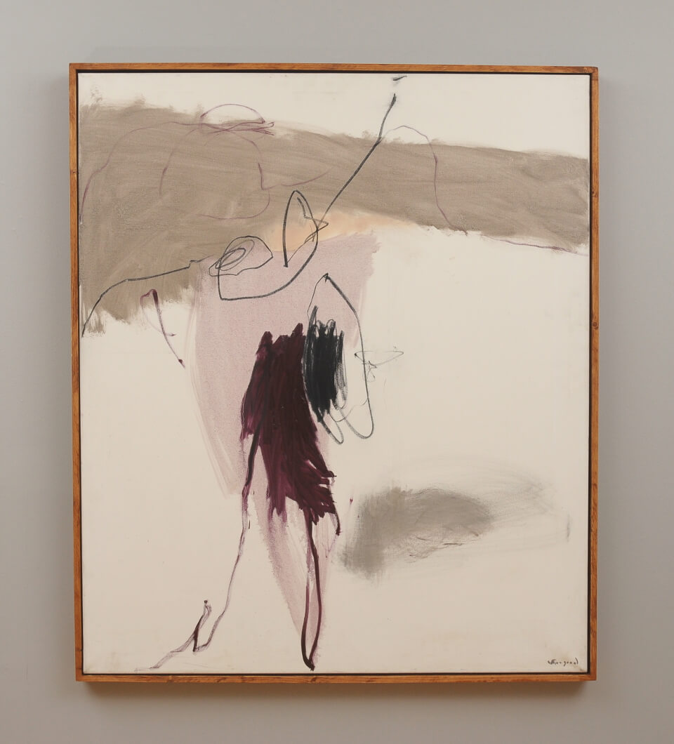 Galerie RIECK - Peter Skovgaard_Komposition rosé_mit Rahmen
