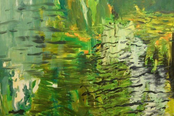 Galerie RIECK - Vibeke Tøjner_Wasserspiegelung