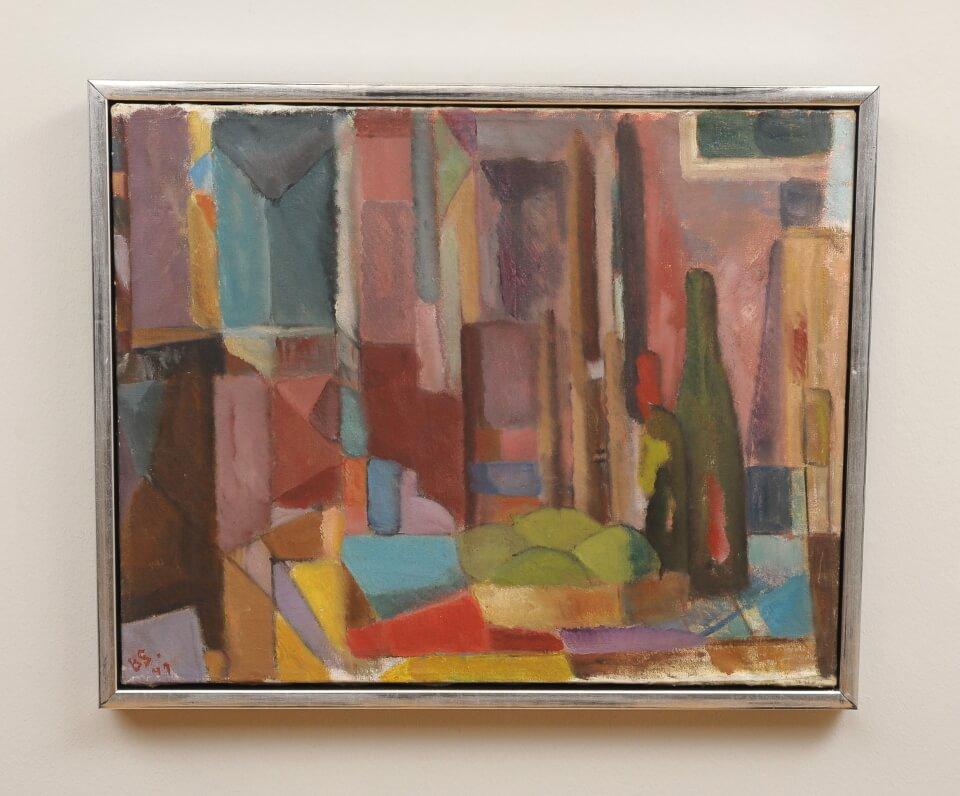 Galerie RIECK - Bertil Sjöberg_Stillleben_mit Rahmen