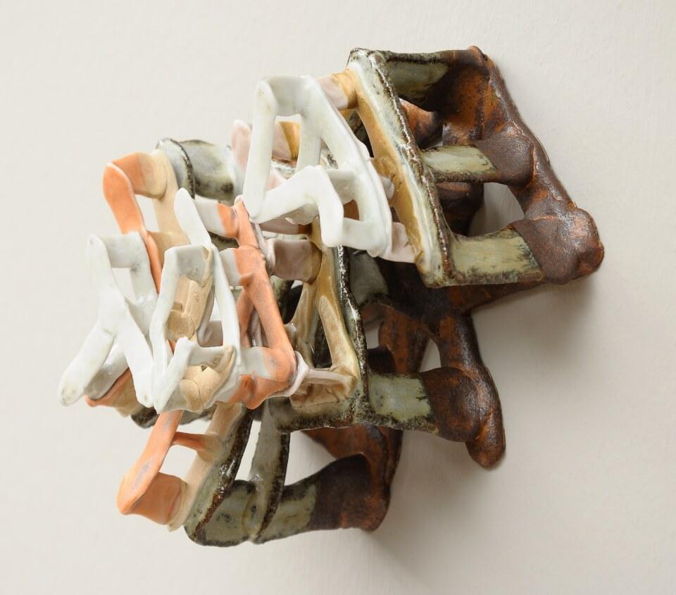 Galerie RIECK - Charlotte Thorup_Uneven Spaces_orange_3