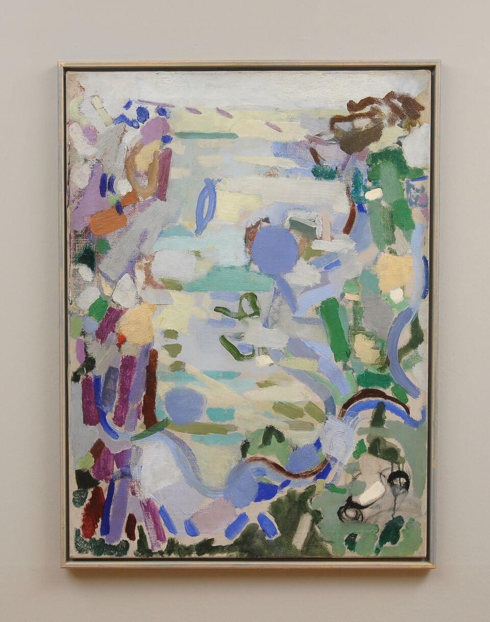Galerie RIECK - Else Fischer-Hansen_Im Garten_mit Rahmen