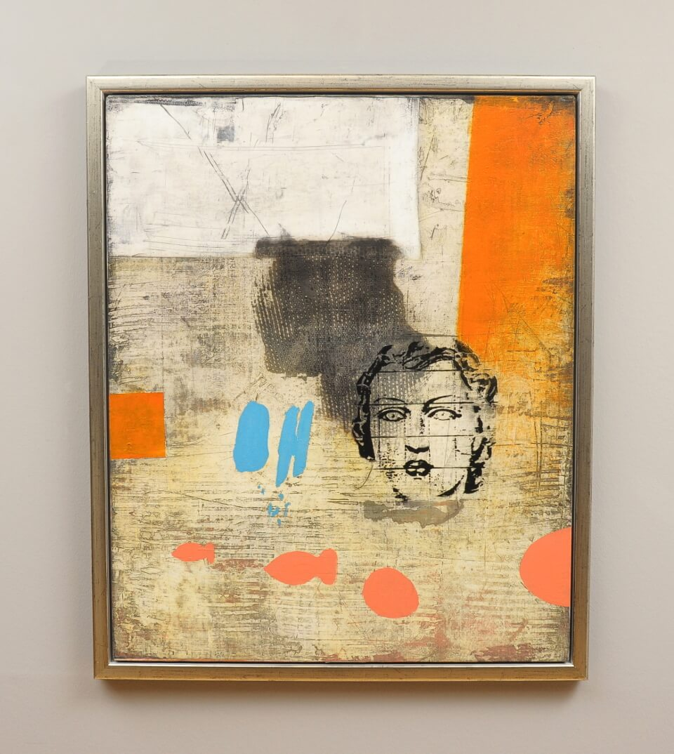 Galerie RIECK - Jan Wessel_Komposition_mit Rahmen