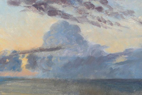 Galerie RIECK - Johannes Grenness_Wolken über dem Kattegat