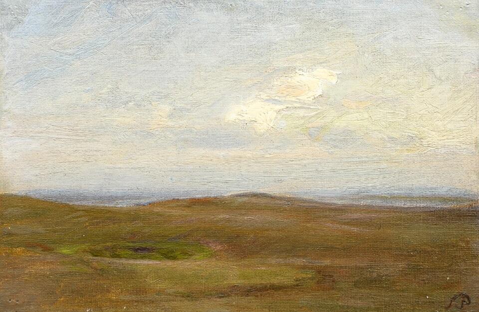 Galerie RIECK - Julius Paulsen_Himmel über der Heide