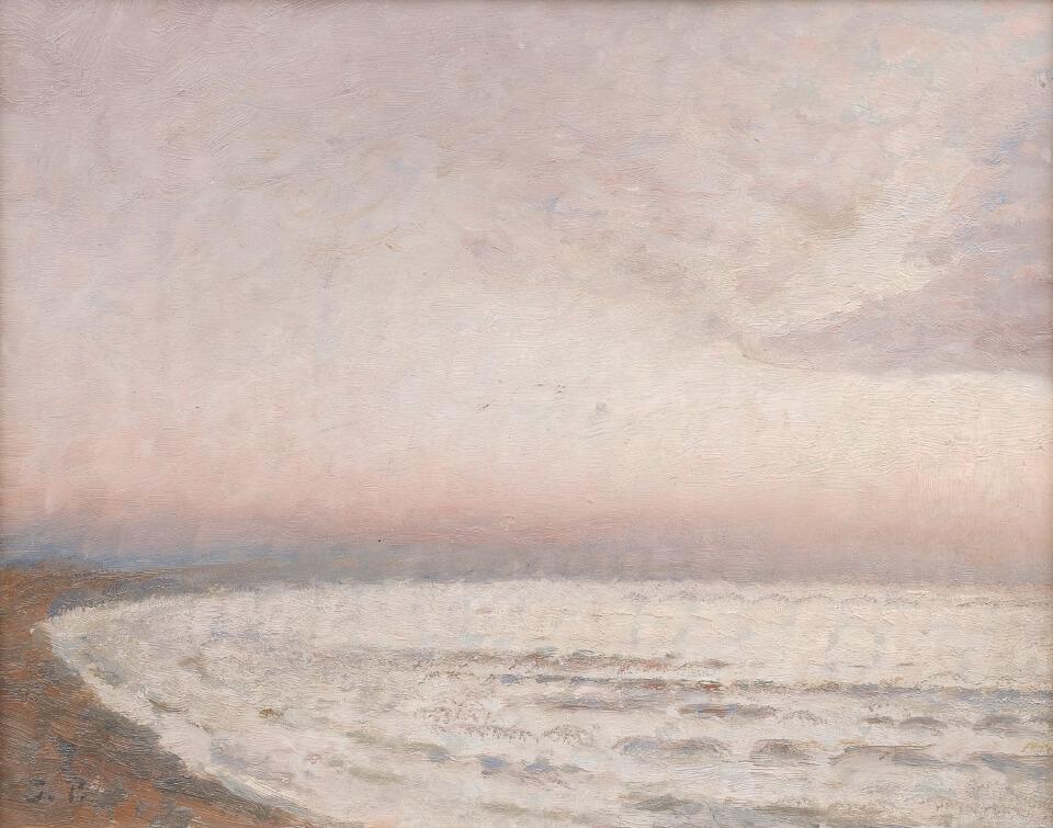 Galerie RIECK - Julius Paulsen_Sonnenaufgang Tisvilde