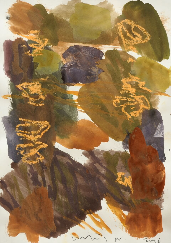 Galerie RIECK - Kehnet Nielsen_Komposition Aquarell