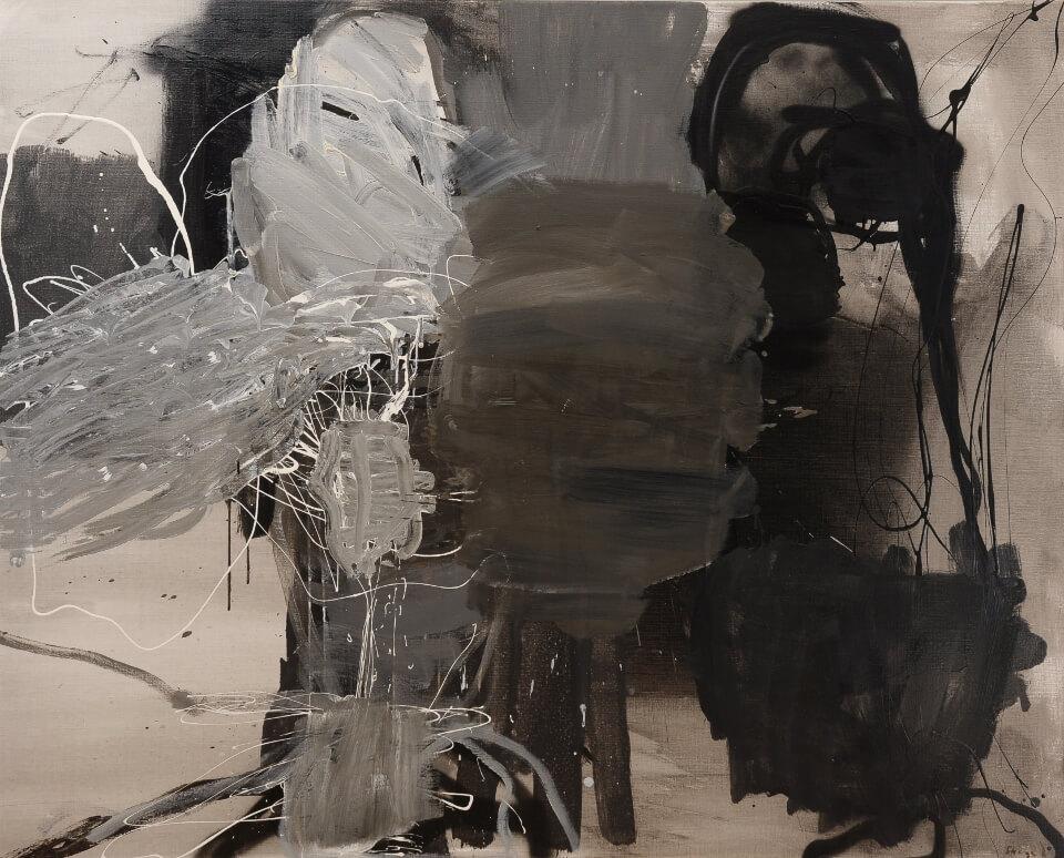 Galerie RIECK - Peter Skovgaard_Dunkle Komposition