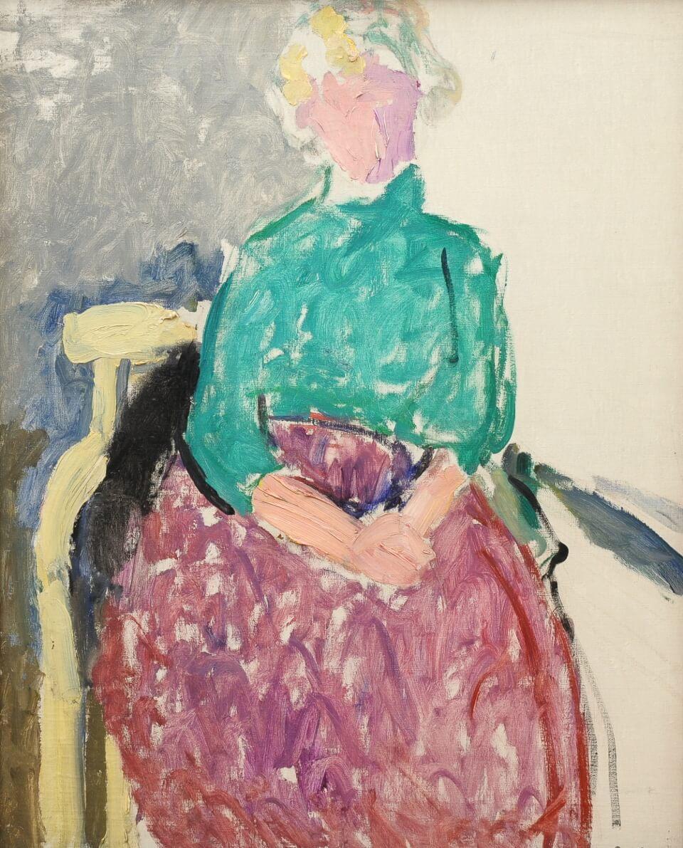 Galerie RIECK - Poul Schrøder_Studie einer Frau