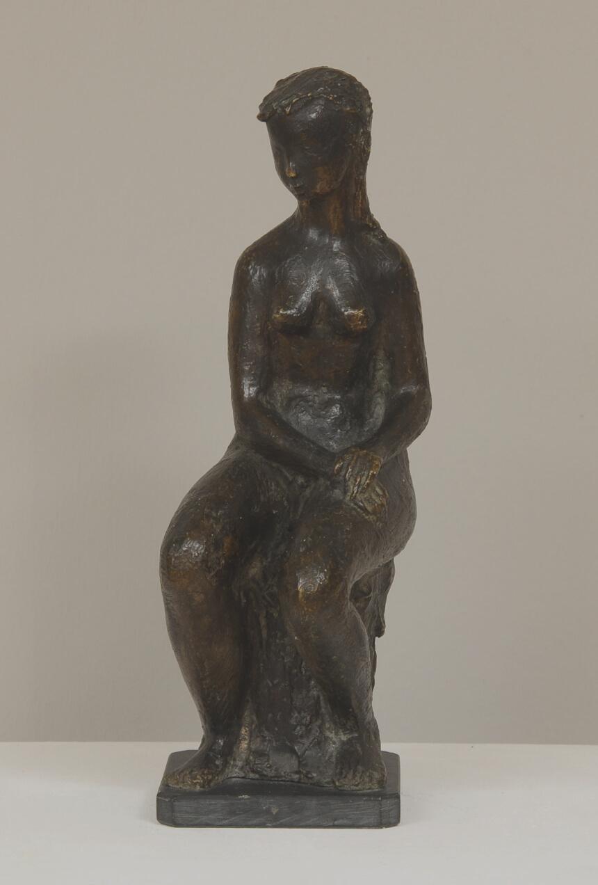 Galerie RIECK - Tove Olafsson_Sitzende Frau_1