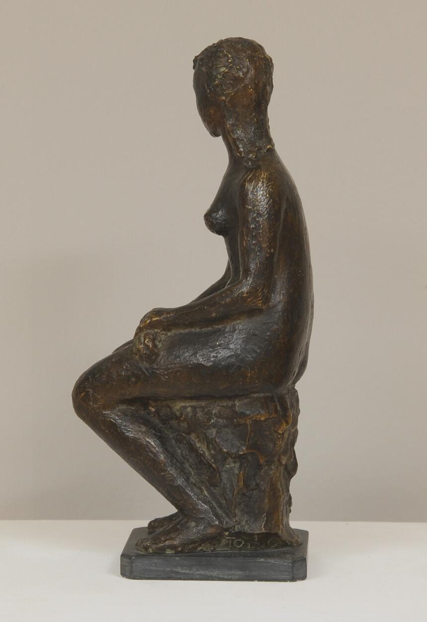 Galerie RIECK - Tove Olafsson_Sitzende Frau_3
