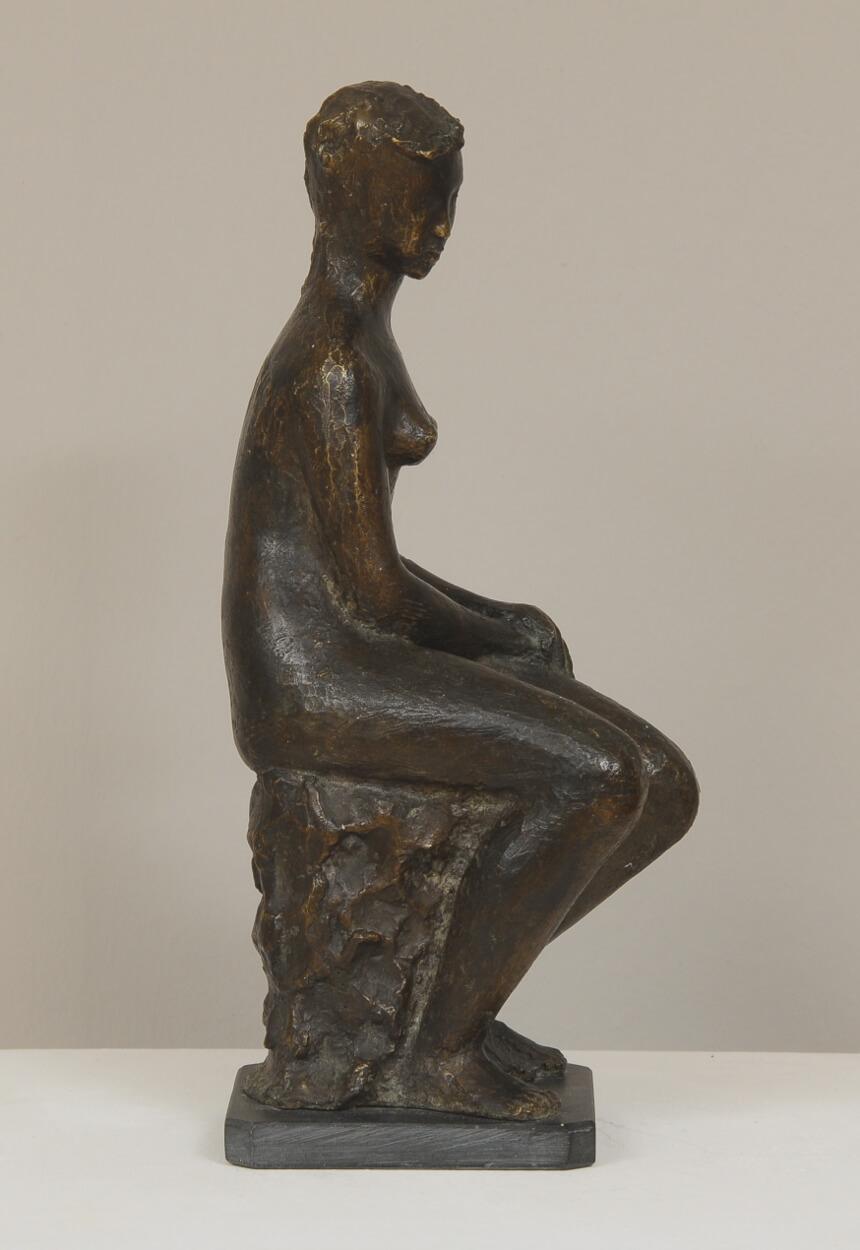 Galerie RIECK - Tove Olafsson_Sitzende Frau_4