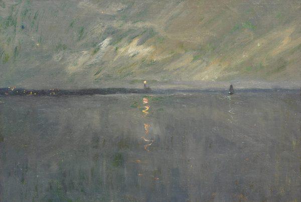 Galerie RIECK - Victor Qvistorff_Leuchtfeuer in der Dämmerung
