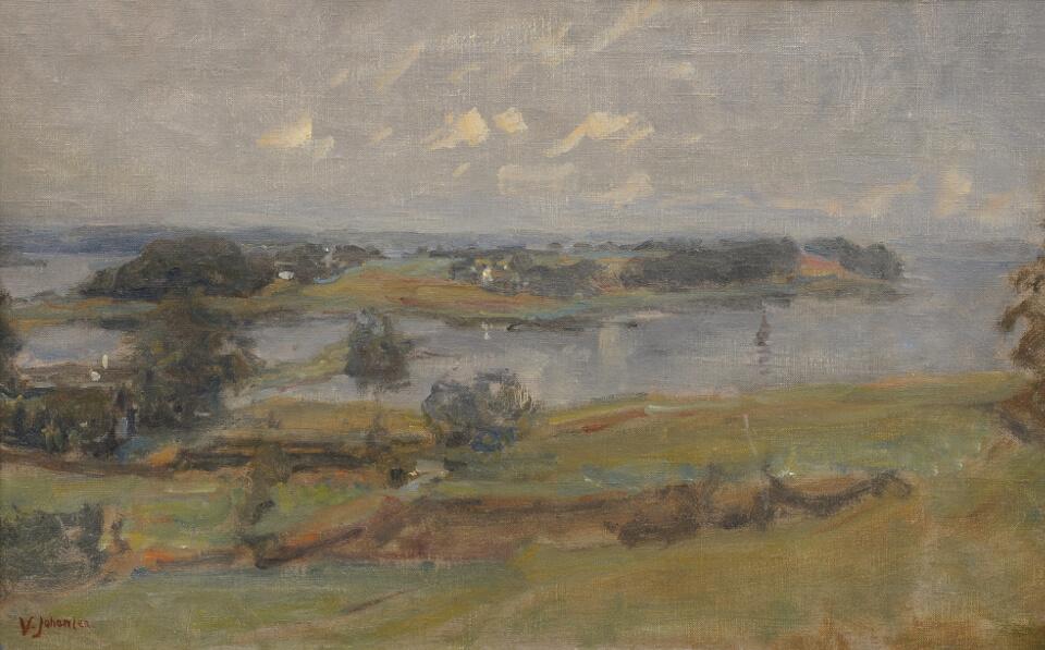 Galerie RIECK - Viggo Johansen_Landschaft Bramnaesvig