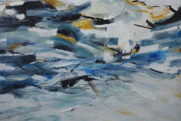 Galerie RIECK - Elke Hergert_Bewegte Landschaft III