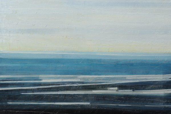 Galerie RIECK - Elke Hergert_Fanö Strand