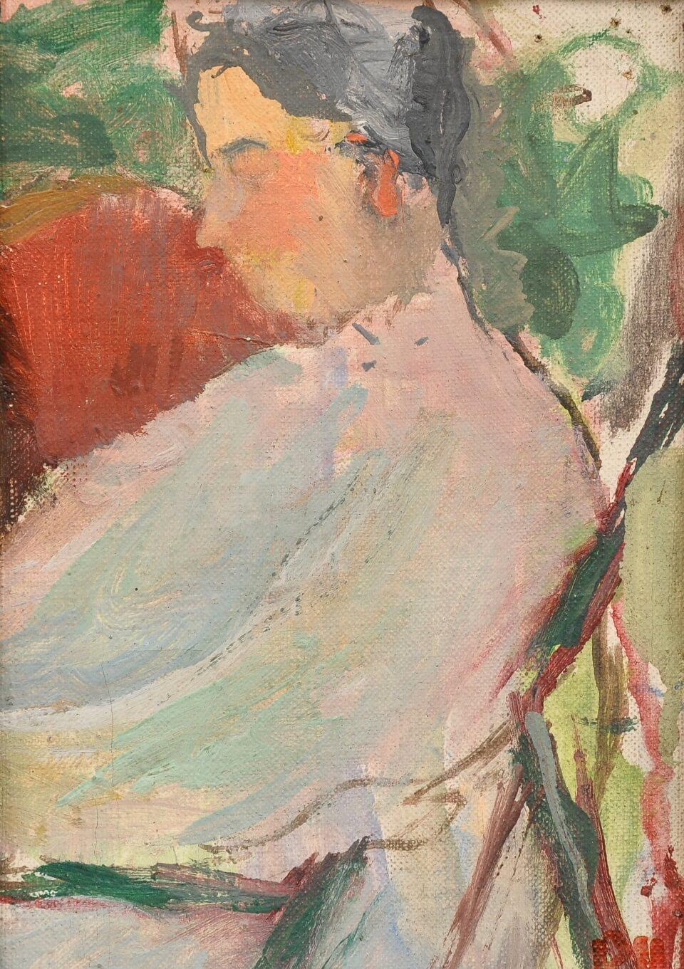 Galerie RIECK - Preben Hornung_Studie Lis Hansen