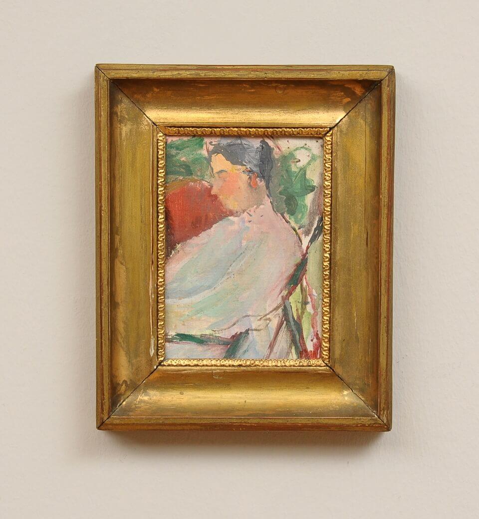 Galerie RIECK - Preben Hornung_Studie Lis Hansen_mit Rahmen