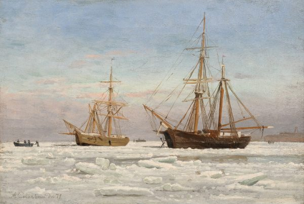 Galerie RIECK - Andreas Riis-Carstensen_Segler im Eis