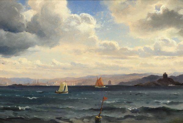 Galerie RIECK - Carl Fred. Sørensen_Segler vor Kullen
