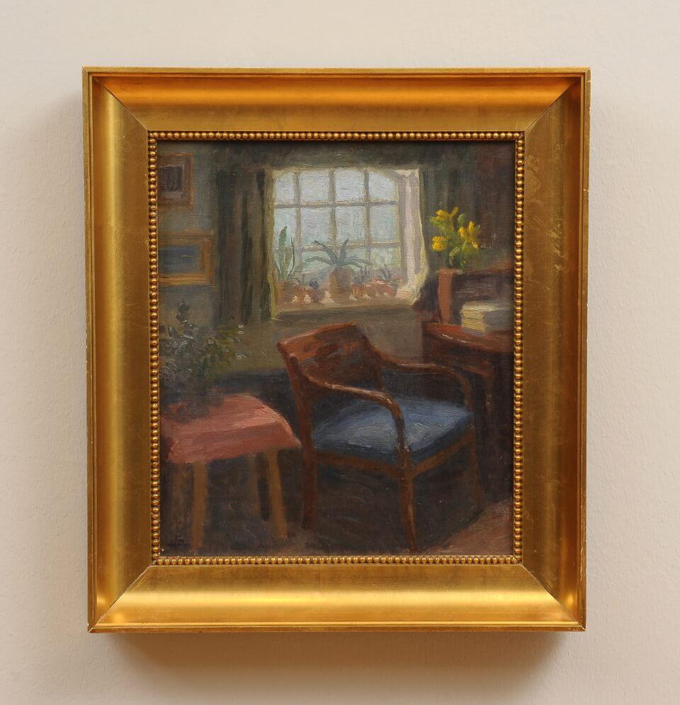 Galerie RIECK - Henrik Schouboe_Vorm Fenster_mit Rahmen