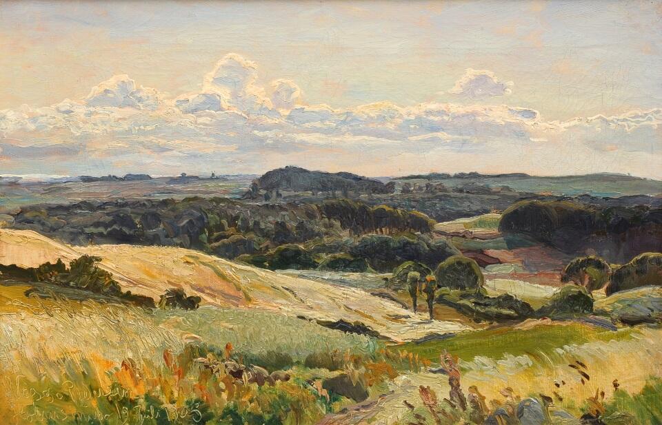 Galerie RIECK - Viggo Pedersen_Landschaft bei Holmstrup